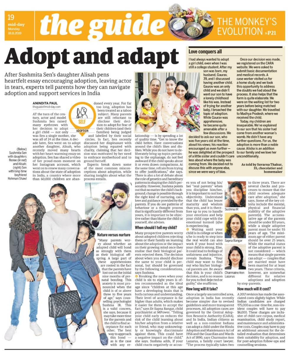 Adopt and Adapt - midday story